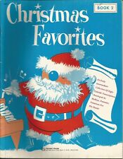 """CHRISTMAS FAVORITES BOOK 2"" PIANO MUSIC BOOK-HANSEN HOUSE-BRAND NEW ON SALE!!"