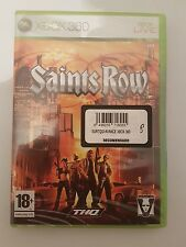 Saints Row para Xbox 360 pal España  nuevo y sellado