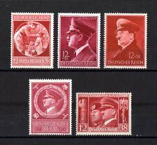 E621-GERMAN EMPIRE-Third reich.1938-44.Deutsches reich ADOLF HITLER Lot MNH**