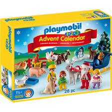 Playmobil 123 Christmas on the Farm Advent Calendar 2018 - 9009 - NEW