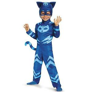 PJ Masks Catboy size S 2T Toddler Costume Tail Headpiece Outift Disguise DEALS