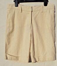 River Island Size UK 10 Eur 38 Ladies beige Linen mix shorts