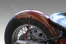 Heckfender Fender Alu umgebördelt 180mm Schutzblech mudguard Scrambler BMW