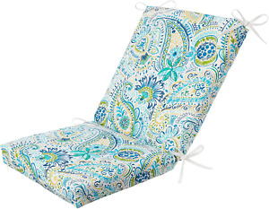 Outdoor Deep Seat Chair Patio Cushions Set Pad Uv Resistant Porch Furniture
