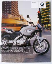 BMW F650CS MOTORCYCLE Sales Brochure 2003 #311205521
