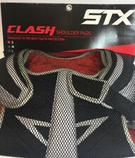 Stx Lacrosse Hockey Clash Shoulder Pads Size Small Youth 5-8 Years 70-90 Lbs New