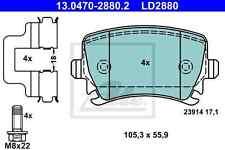 ATE Bremsbeläge Satz Hinten ATE Ceramic 13.0470-2880.2 AUDI - SEAT - SKODA - VW