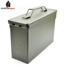 30 Cal Metal Ammo Can Military and Army M19A1 All-Metal Box Bullet box Ammo Case