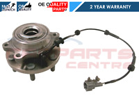 FOR NISSAN PATHFINDER 2.5 R51 FRONT WHEEL BEARING HUB ASSEMBLY ABS SPEED SENOR