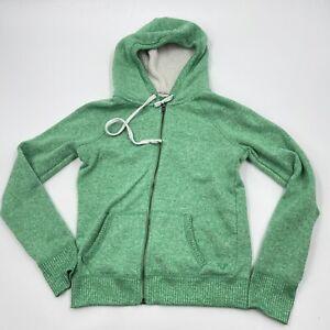 AMERICAN EAGLE Zip Up Hooded Jacket Fleece Hoodie Junior Size M