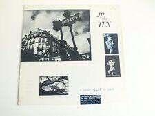 JP den Tex a quiet street in paris Dutch pop LP