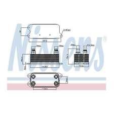 Fits Mercedes C-Class C204 C 220 CDi Nissens Automatic Gearbox Oil Cooler