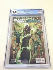 PLANET OF THE APES / GREEN LANTERN #1 CGC 9.8 JJUFS VARIANT ETHAN VAN SCIVER