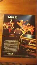 1998 Print Photo Ad For Marshall A