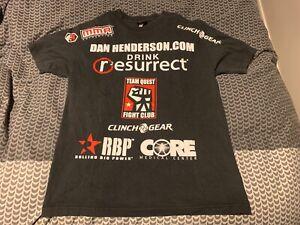 """UFC LEGEND DAN """"HENDO"""" HENDERSON WALKOUT FIGHT T-SHIRT"""