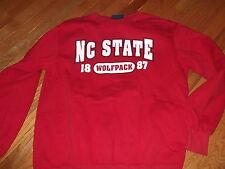 North Carolina NC State Wolfpack official sweatshirt Adult Medium