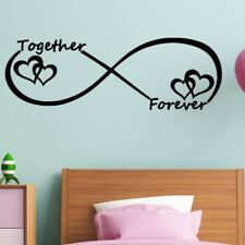 Together Forever Alphabet Wall Sticker Removable Bedroom Living Room Mural Decor