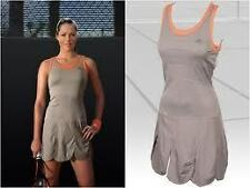 ANA IVANOVIC ADIDAS ORANGE LAVA CLIMALITE EDGE TENNIS DRESS M MEDIUM NWT