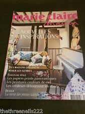 FRENCH MARIE CLAIRE MAISON - NOVEL IDEAS - APRIL 2010