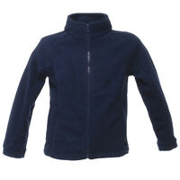 Regatta Boys Girls Kids Fleece Jacket - Navy
