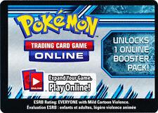 100x Pokemon Online Plasma Storm Promo Code Card for OTCG Booster Packs