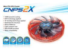 Zalman CNPS 2X bajo perfil CPU Cooler para AMD FM2/FM1/AM3+/AM3/AM2+/AM2