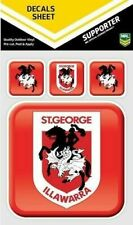 NRL St Illawarra Dragons Outdoor UV App Icon Car Tattoo Sticker Sheet Decal iTag