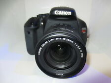 Canon EOS T3i  600D Digital Camera body + Mint canon 18-55 IS Stm Lens +32GB