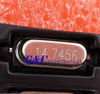 100PCS Crystal Oscillator HC-49S SMD 14.7456MHz / 14.7456 MHZ GOOD QUALITY R10