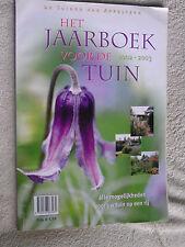 Het jaarboek van de tuin 2002 - 2003 nederlands flaams zie ook fotos aktueel Org