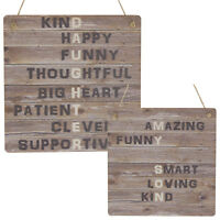 Daughter Gift Best Son Gifts Wooden MDF Sign Rustic Meaning Children Plaque Gift
