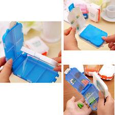 1pcs Portable Vitamin Medicine Drug Pill Box Case Organizer Tablet Container New