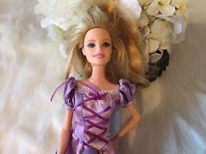 Disney Doll Princess Barbie   # 141 Grow And Style Replunzle Men Kids Women 1997