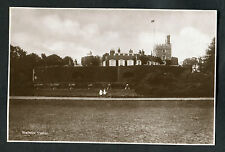 C1920s View of 2 Girls on Bikes & Walmer Castle