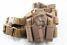 Airsoft Tactical CQC Drop Leg left Thigh Holster for M9 M92 Berett Style Pistol