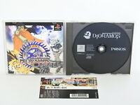 PS1 DIORAMOS Spine * Playstation Japan Game p1