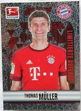 Topps Fußball Bundesliga 2015/2016, Sticker Nr. 332 *Thomas Müller* Limitierte