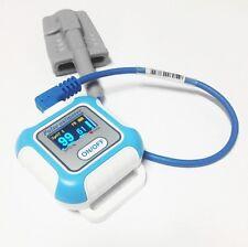 Bluetooth Wrist Pulse Oximeter Wearable Blood Spo2 Monitor Sleep Oximetry CE/FDA