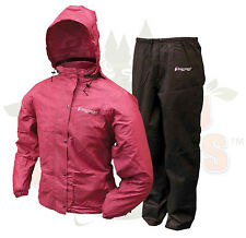 XL XLARGE Womens Cherry Frog Frogg Toggs Togs ALL Purpose Rain Gear Suit Wear