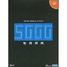 Dreamcast SGGG Segagaga Sega Gaga Japan Game dc
