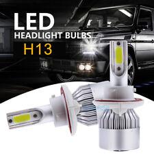 H13 9008 LED Headlight For Dodge Ram 1500 2500 3500 2006-12 Hi Low Beam 6000K