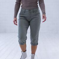 Levi's Grun Denim Damen Capri Shorts DE 38 / W30