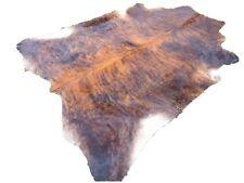 NEW LARGE BRINDLE BROWN Cowhide Rug natural Cowhides Cow Hide Skin 6X6 FT BRS.