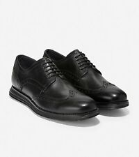 Cole Haan Original Grand Shortwing Oxford Shoes Men's Size 7 10 Leather Black