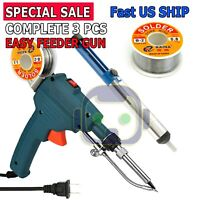 110V 60W Auto Welding Electric Soldering Iron Temperature Gun Solder Tool Kits