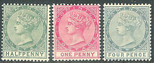 Dominica (Until 1967) Multiple Stamps