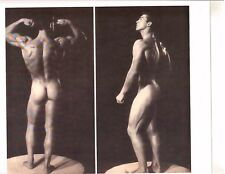 young LARRY SCOTT Muscle Bodybuilding Butt Pose Photo B&W