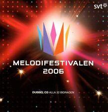 2 CD Melodifestivalen 2006, Eurovision ESC Pre Selection Sweden Schweden Carola