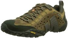 Merrell Intercept Mens Brown Low  Leather Walking Hiking Trail Shoes Size 12 New