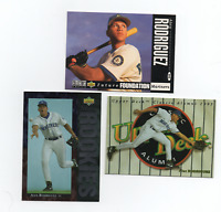 Alex Rodriguez rookie lot of 3 Seattle Mariners MLB Upperdeck